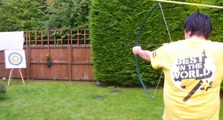 Seve was not the 'Best in the World' at Archery