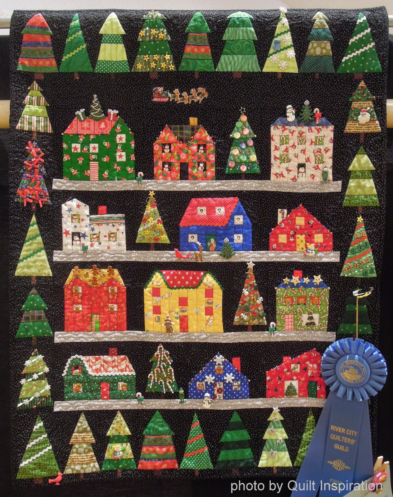 Quilt Inspiration Happy Quilted Holidays The Best Of