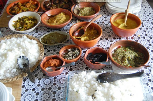Pohela Boishakh popular food items (Vortta & Sada Vat)