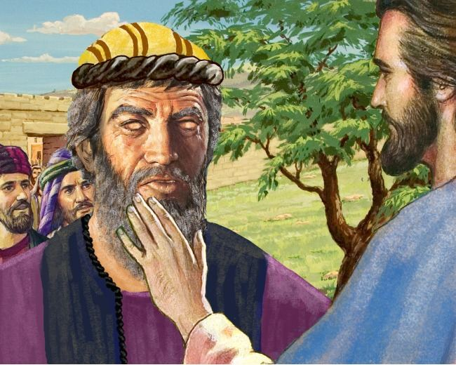 Image Result For Jesus And Bartimaeus