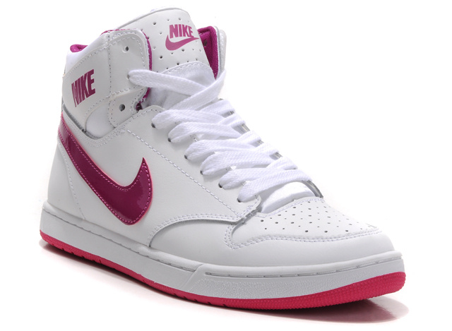 Colorful nike high tops for girls