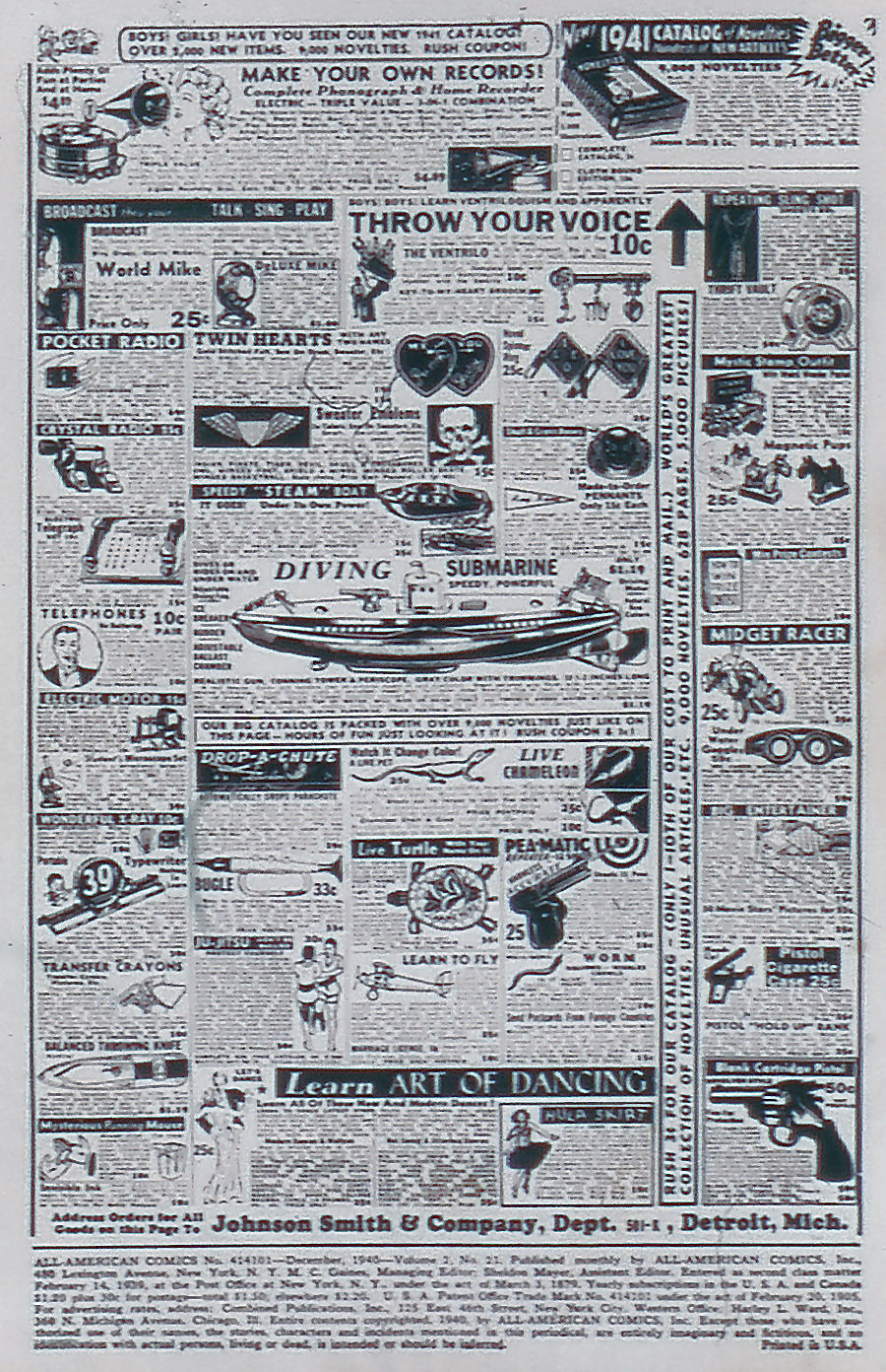 Read online All-American Comics (1939) comic -  Issue #21 - 2