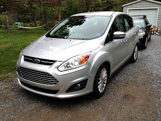 Ford C-Max Hybrid - review of my test drive