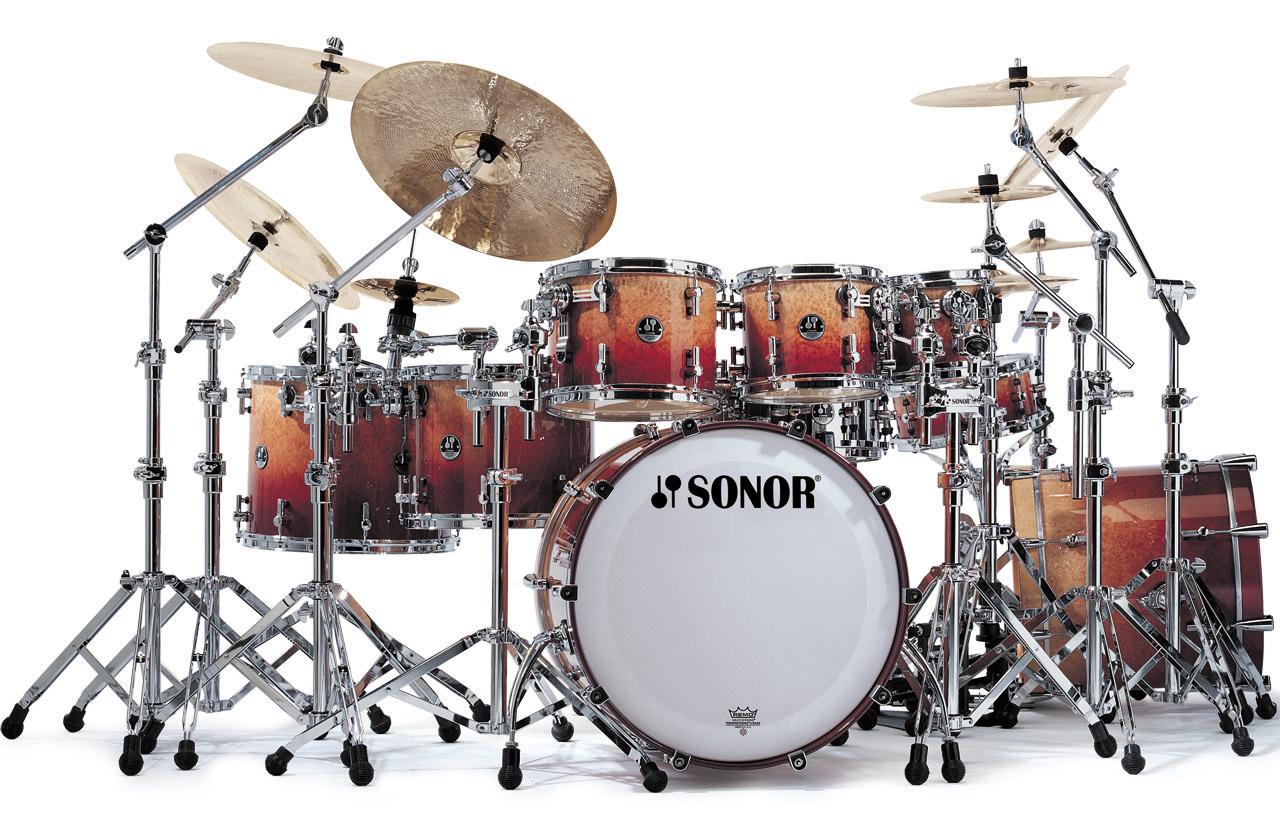 Как сделать акустические барабаны