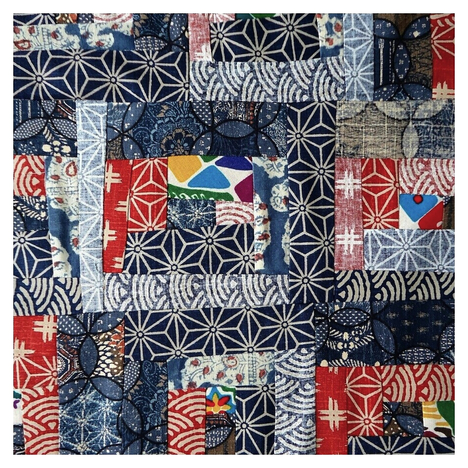 Improv quilting by Ivy Arch