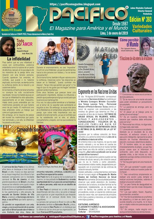 Revista Pacifico N° 393 Variedades Culturales