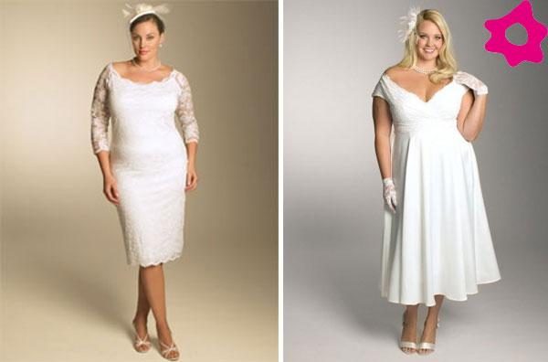 Vestidos de boda para senoras gorditas