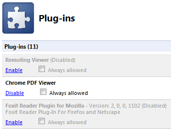 About Plugins Chrome Pdf Viewer Disable