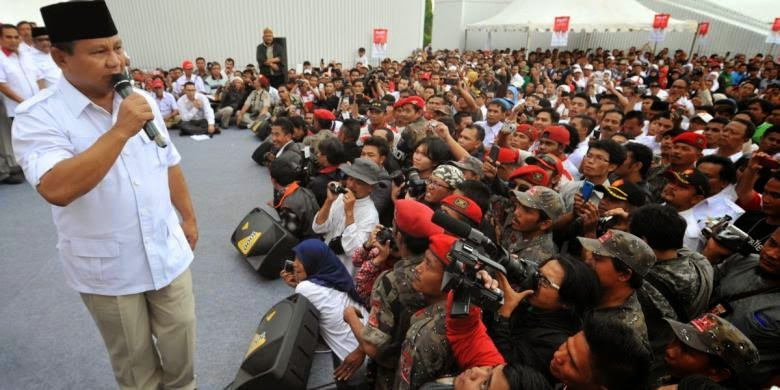 Prabowo Sarankan Polri Hanya Rekrut yang Ganteng dan Cantik