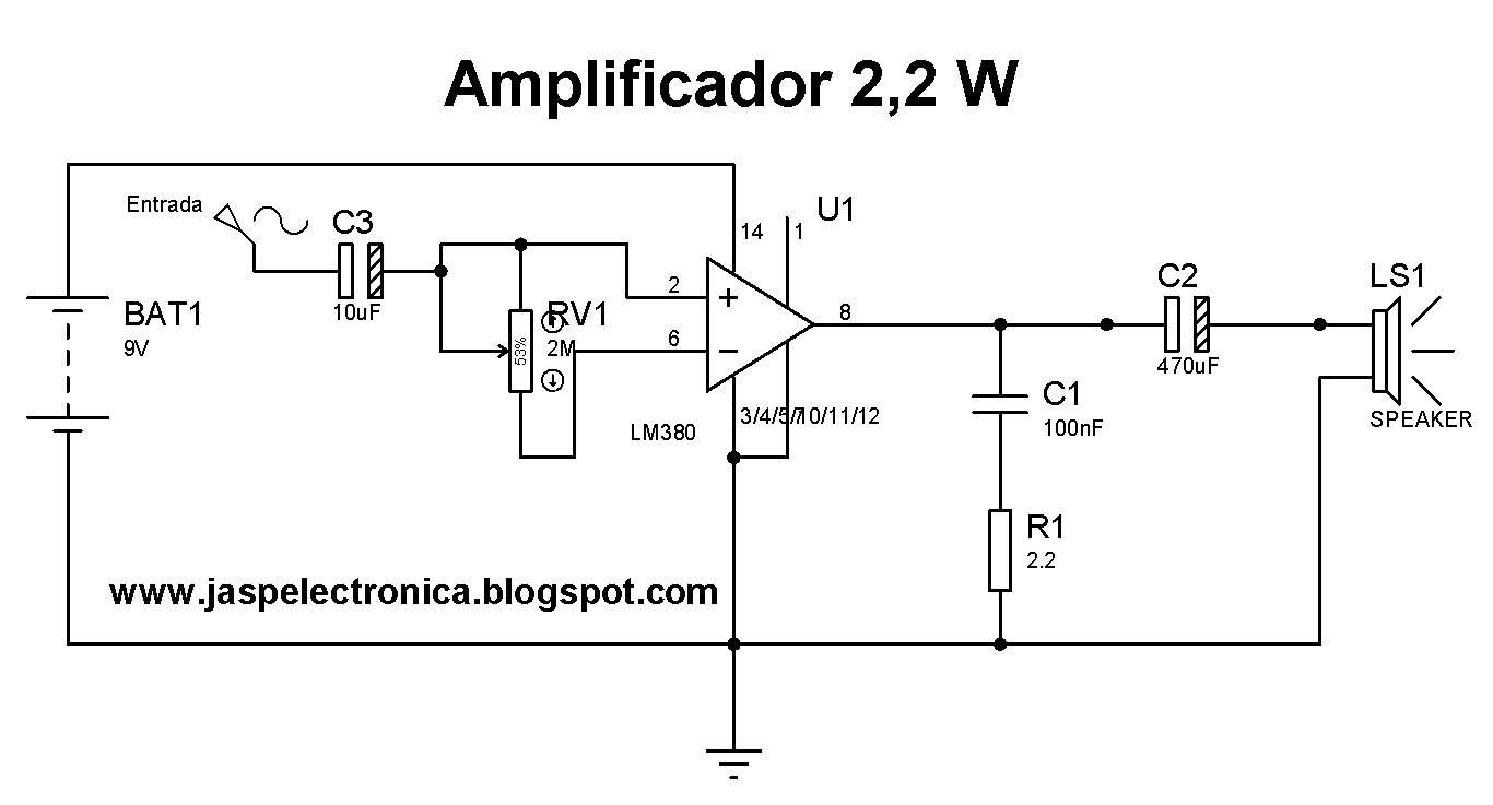 Circuito De Electronica : Jasp electronica circuitos electrónicos practicos