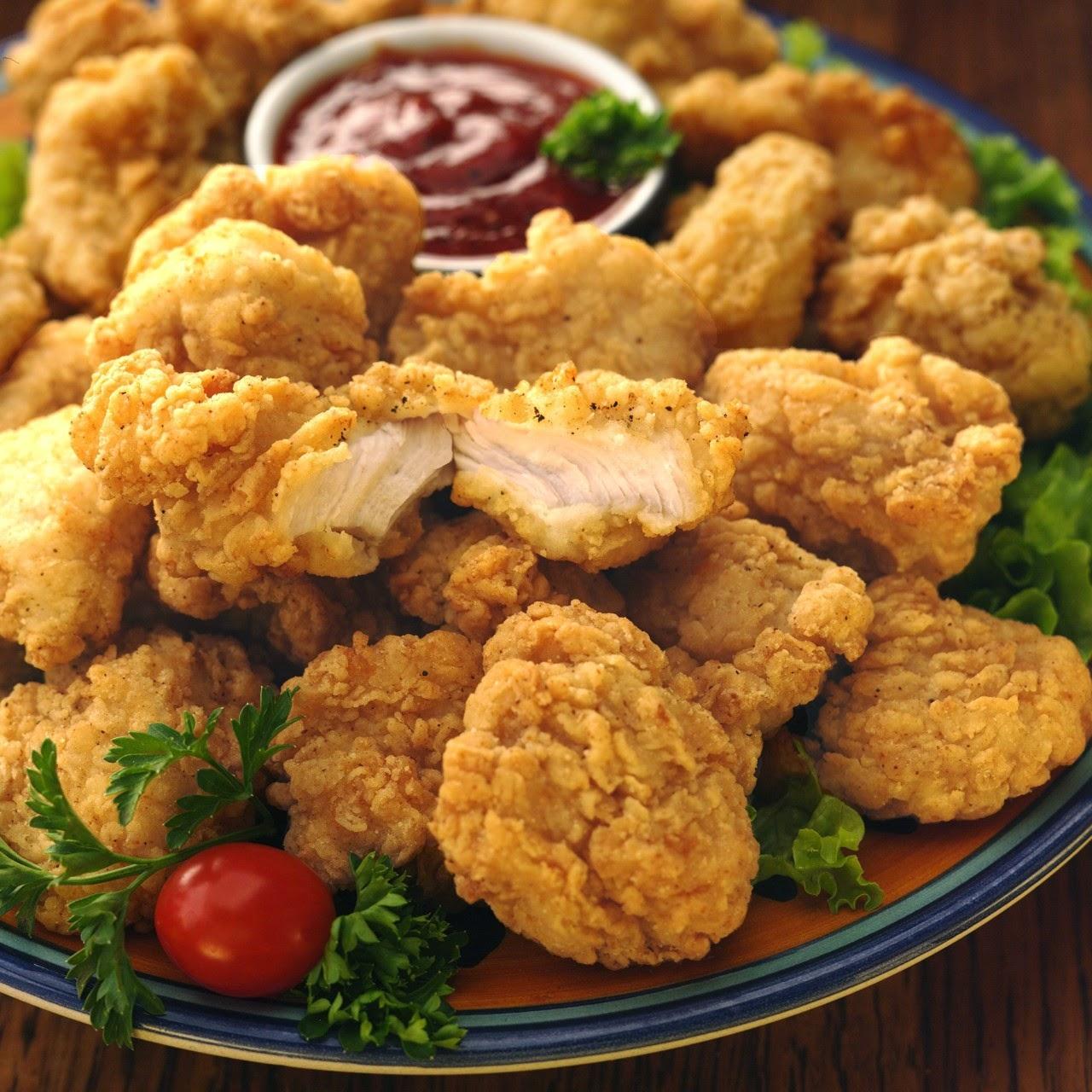 طريقة عمل بوب كورن الدجاج كنتاكي