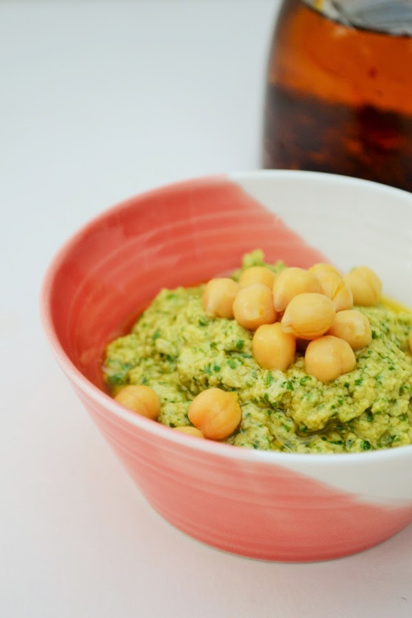 Rocket Hummus for National Vegetarian Week
