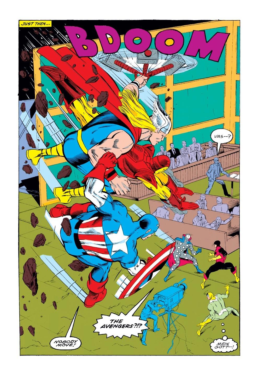 Captain America (1968) Issue #393 #326 - English 5