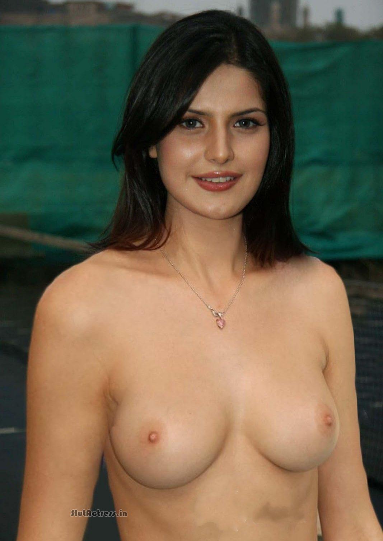 American Girls: Zarine Khan Topless Showing Nude Boobs
