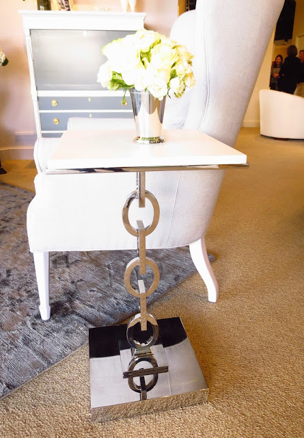 Chain link side table from Windsor Smith for Century Furniture