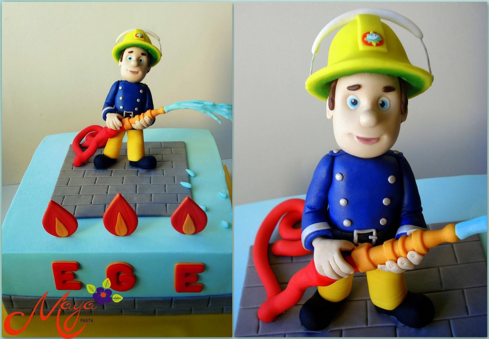 Sam fireman cake