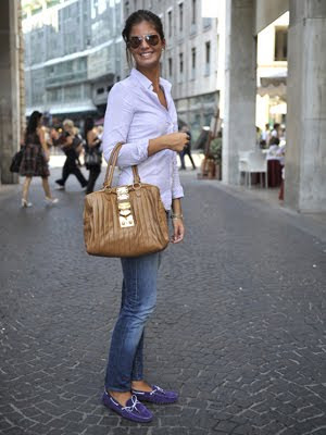Italian Women Style LUXURIA: French Chic v...