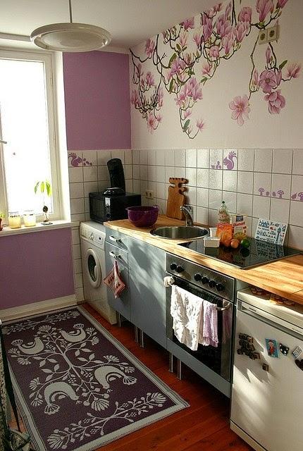 cozinha roxa