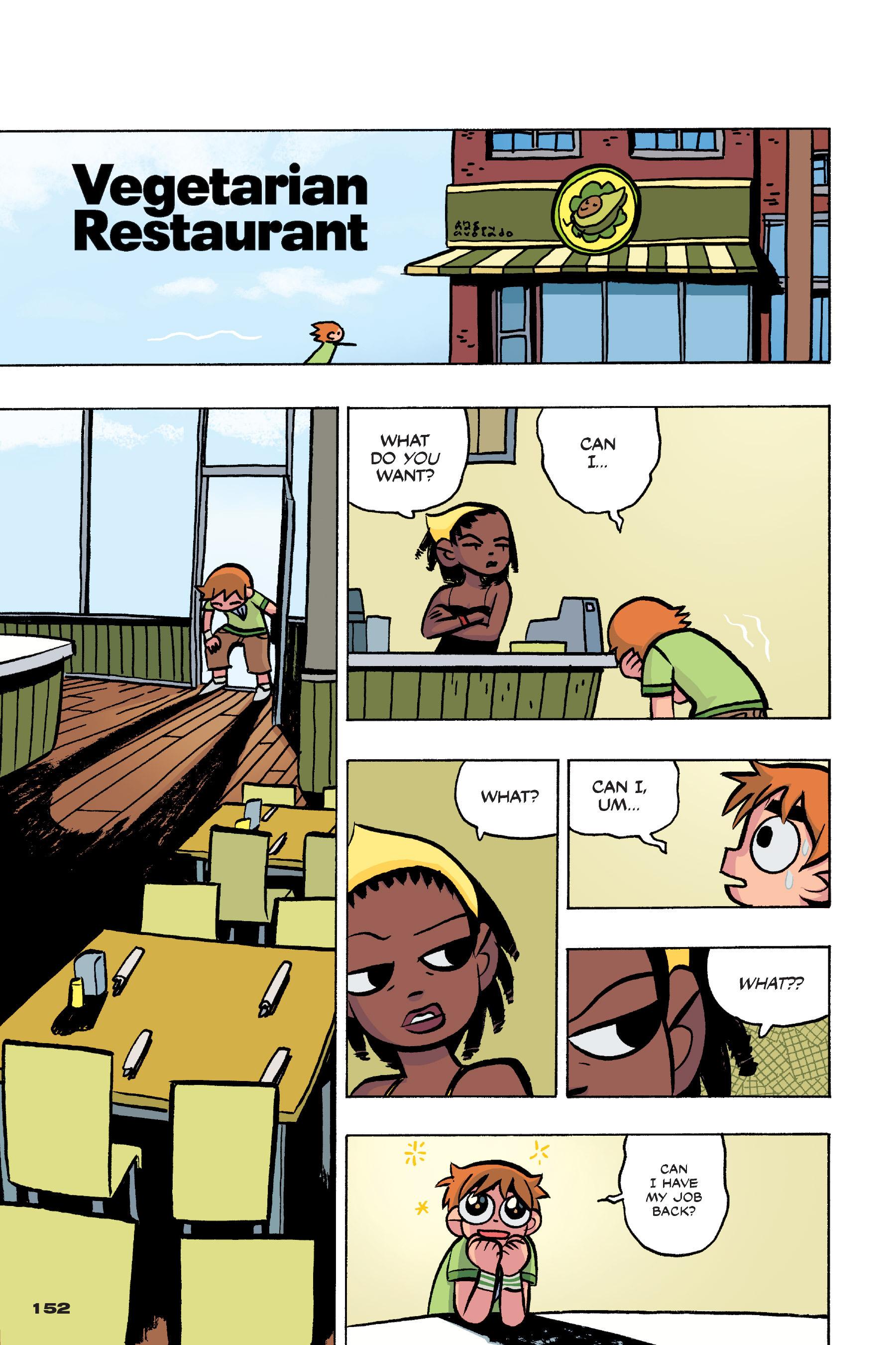 Read online Scott Pilgrim comic -  Issue #4 - 149