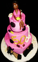 Diva 50th Birthday Cake