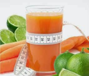 suco-emagrecedor-de-cenoura-e-limao