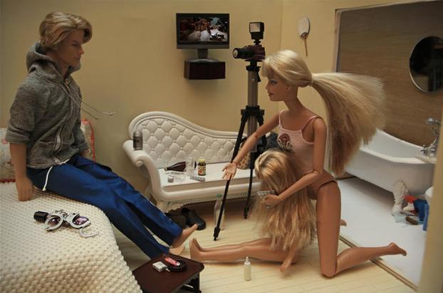 Видео с куклами барби секс этом