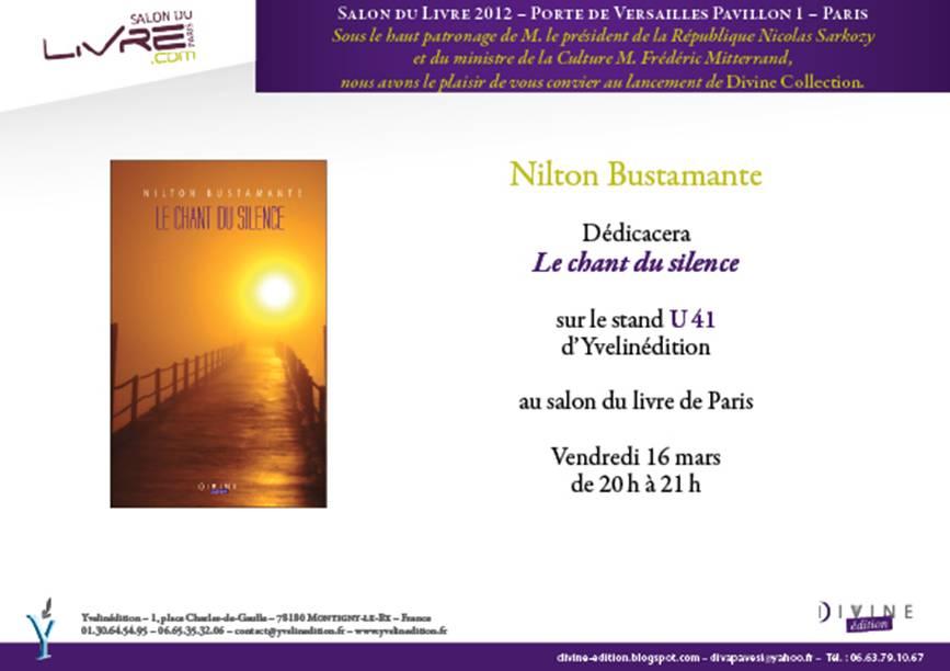 Paula barrozo convite sal o do livro de paris 2012 invitation salon du livre - Invitation salon du livre ...