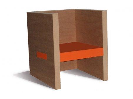 Fauteuil en carton Differents styles de meubles