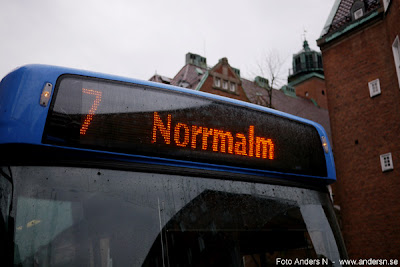 blå buss till norrmalm