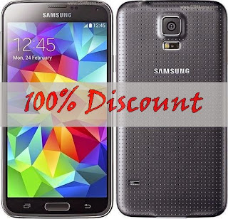 Cheapest Samsung Galaxy S5 = $0.00