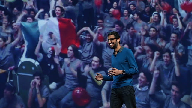 FIRST INDIAN  AS CEO of GOOGLE - Sundar Pichai