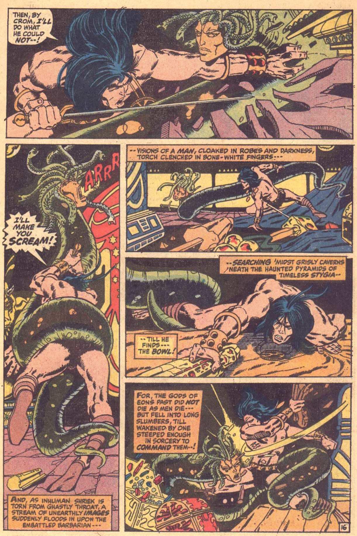 Conan the Barbarian (1970) Issue #7 #19 - English 17