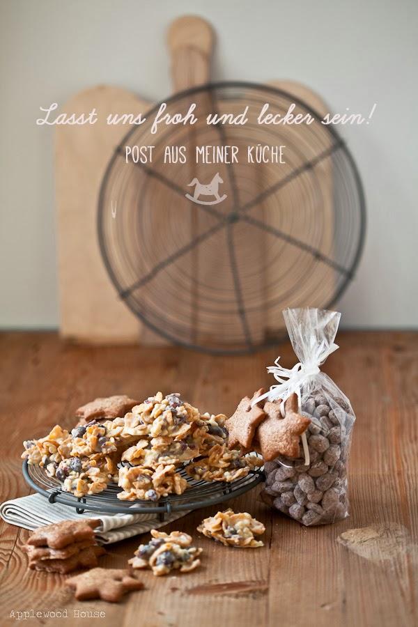 Post aus meiner Küche Weihnachtsmandeln Schokocrossies selbstgemacht