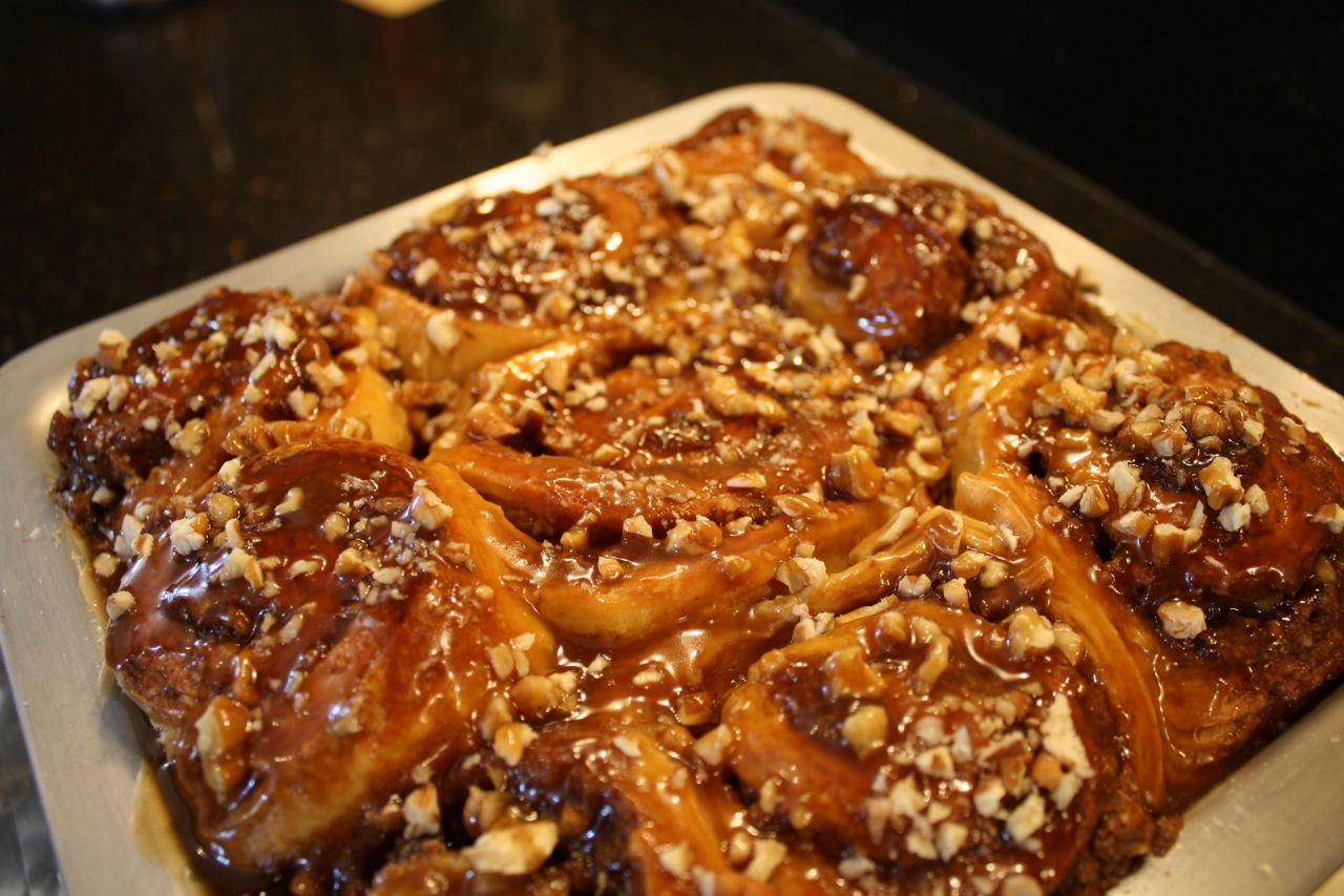 The Roediger House: The Ultimate Sticky Buns