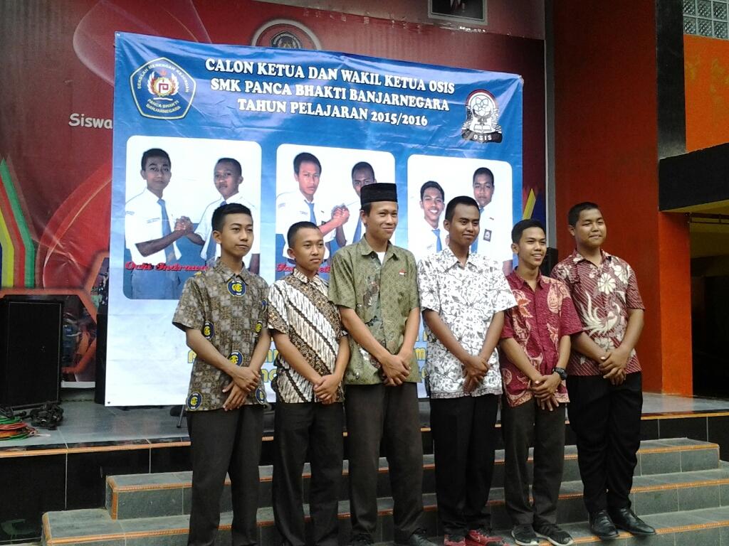 Kandidat Ketua OSIS 2015-2016 SMK Panca Bhakti Banjarnegara