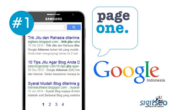 Cara Artikel Blog Muncul di Halaman Pertama Google