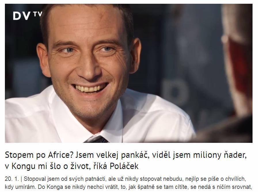 HITCHHIKER TOMÁŠ POLÁČEK
