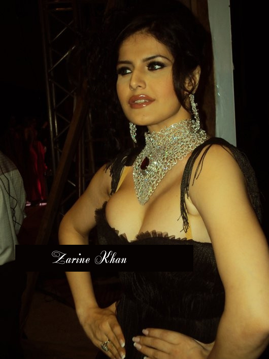 Actress Zarine Khan