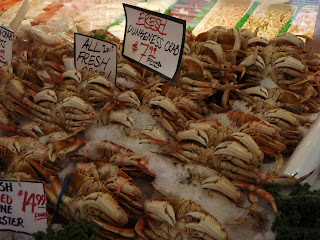 Dungeness crab at Pike Palce Market