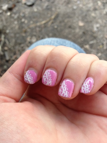 Lace Nail Art by Elins Nails