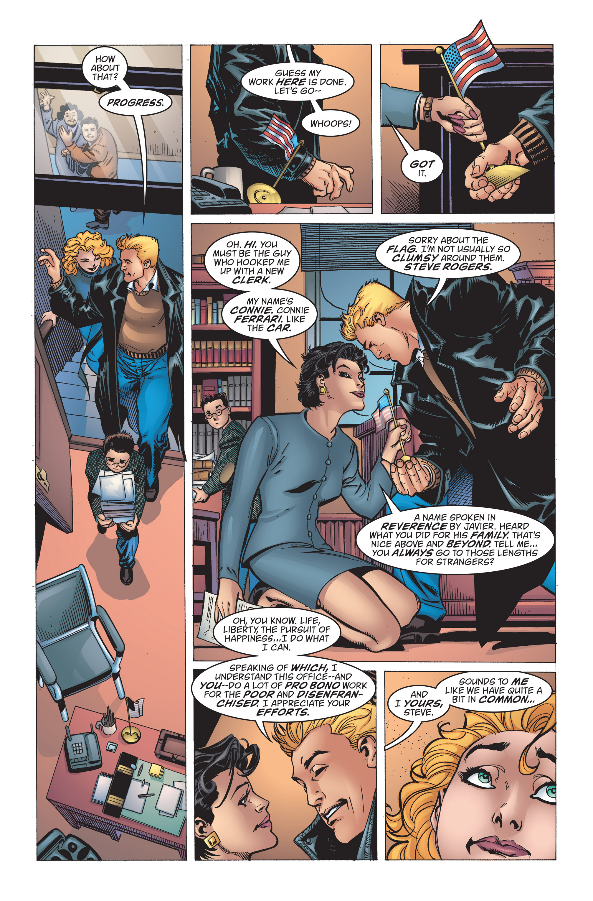 Captain America (1998) Issue #15 #21 - English 13