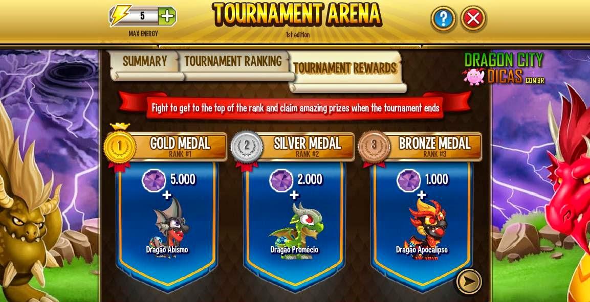 Ilha Torneio - Arena de Torneio