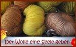 Pflanzengefärbte Wolle, mein Shop