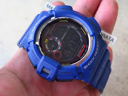 CASIO G-SHOCK MUDMAN G-9300NV BLUE NAVY - TWIN SENSOR - TOUGH SOLAR