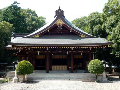 竈山神社拝殿