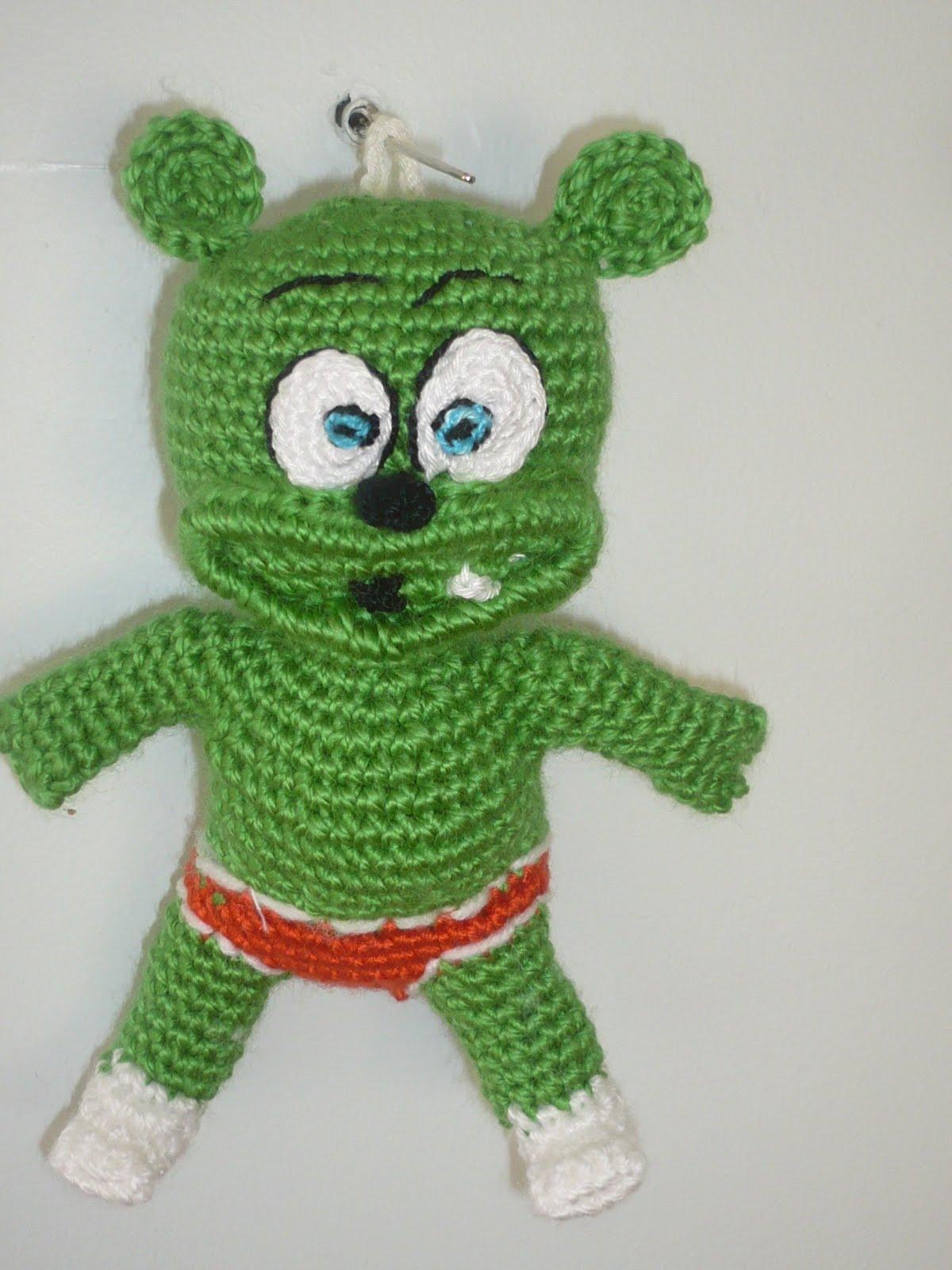 Amigurumi Gummy Bear : emeklinin u?ra?? :): gummi bear