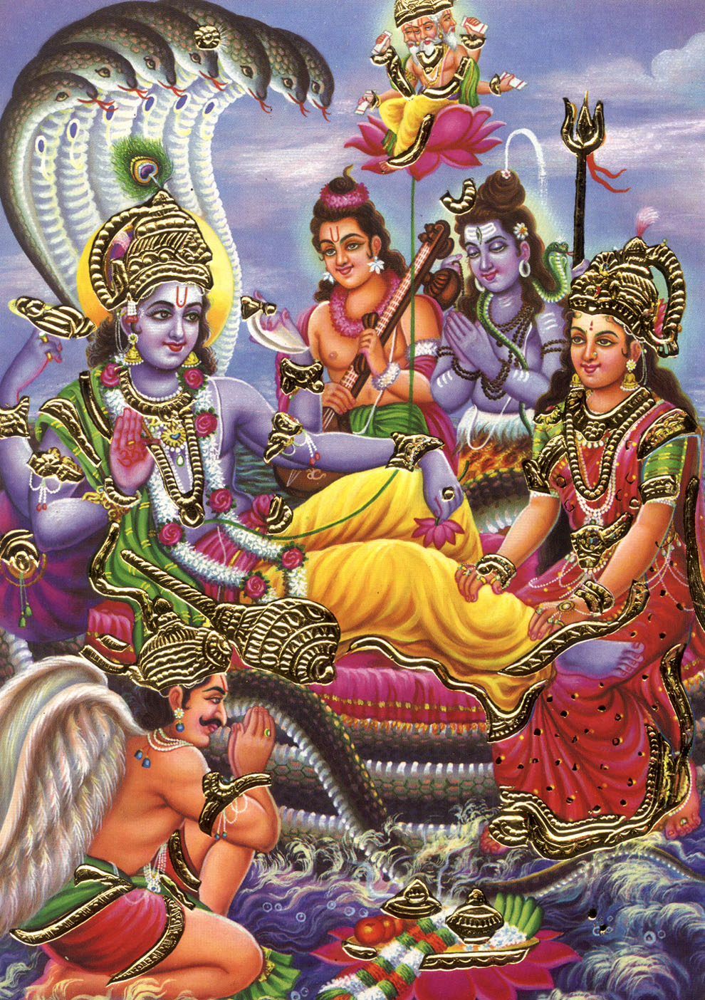 Sri Vishnu Sahasranamam By B.Ramana & Yamini Sisters Devotional MP3 Song