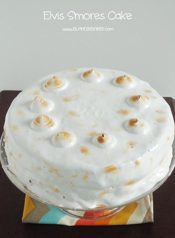 Smores Cake | www.blahnikbaker.com