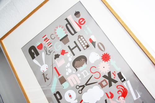 lamina abecedario de Studio Lakmoes
