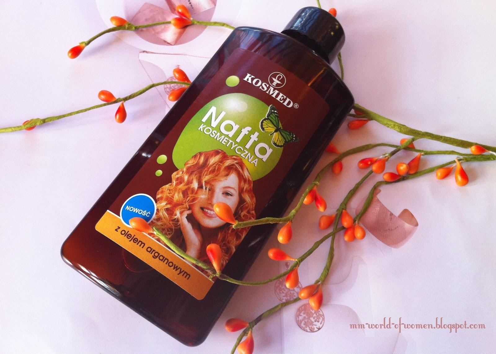 KOSMED - Nafta Kosmetyczna z olejkiem arganowym.